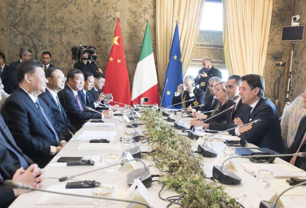 保護中: イタリアを突破口にG7切り崩しを狙う中国