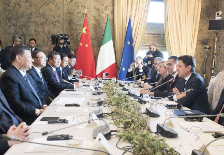 イタリアを突破口にG7切り崩しを狙う中国