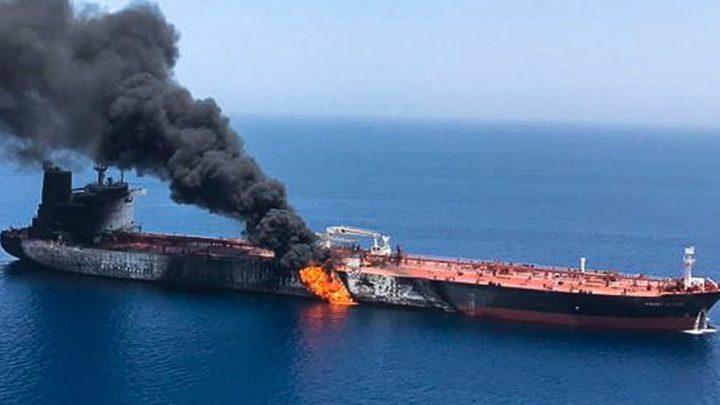 保護中: 現実となったホルムズ海峡危機