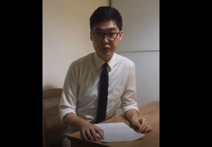 """""""Freedom is not free… Give us liberty or death"""": Andy's Message from Hong Kong"""